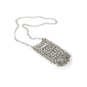 Mini Gemstone Embellished Crossbody Bag