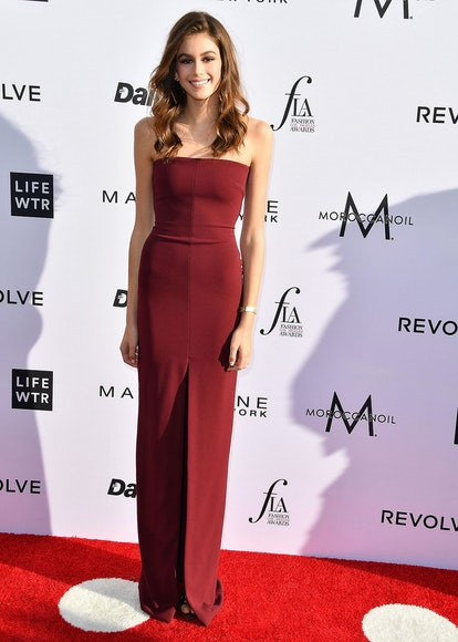 Kaia Gerber wears Solace London at the Daily Front Row's 3rd Annual Fashion Los Angeles Awards at the Sunset Tower Hotel on April 2, 2017 in West Hollywood, California.